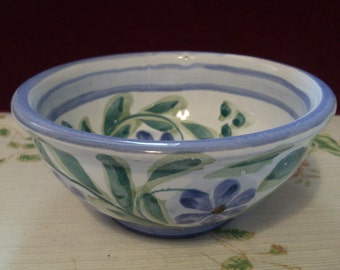 A. Reis Flowered Bowl from Algaria