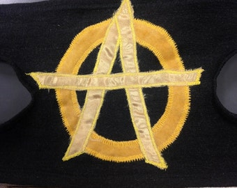 Anarchy Armband Ancap Black and Gold 1of3