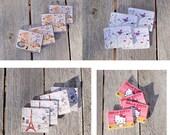Dollhouse table mats 4pcs