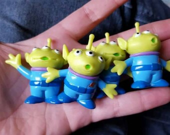 Miniature Alien Toy / Charm / Cabochon for Decoden and Jewelry Making