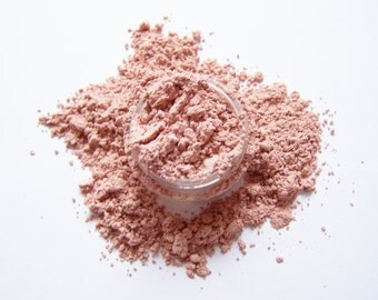 Mineral Makeup - Rose Gold Satin Eyeshadow - Mineral Eyeshadow - Rose Gold Eyeliner -  Vegan Makeup