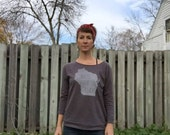 Women's WI Where I Roam Raw Edge Sweatshirt