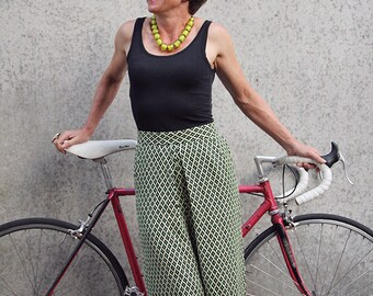 Culottes and Short Culottes PDF sewing pattern. The Velo Culottes Pattern.