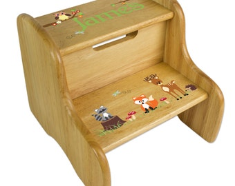 Personalized Children S Owl Step Stool For Hoot By Mybambino