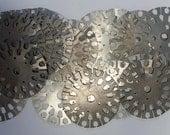 metal art steam punk armature plates Wheels Gadgets 25 BIG pieces