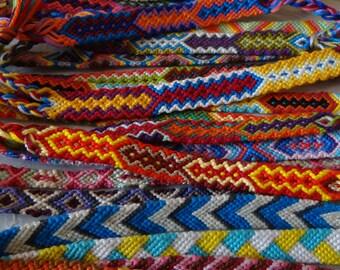 Large Bundle of Friendship Bracelets - 25
