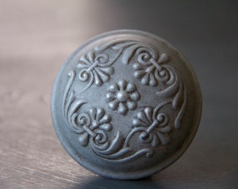 Vintage Floral Decorative Door Knob
