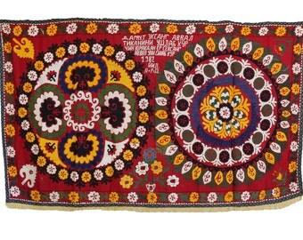 Handmade Vintage Suzani NL3030