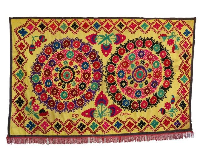 Handmade Vintage Suzani NL3025