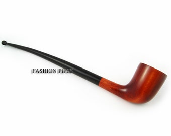 "New Fashion Churchwarden Tobacco Pipe 9.8'' ""Lord of The Rings""  Long Pipe Smoking Pipe of Pear Wood. Designed for pipe smokers"