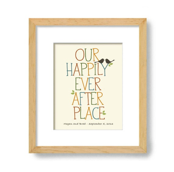 Housewarming gift new house unique wedding gift art Best housewarming gifts for couples