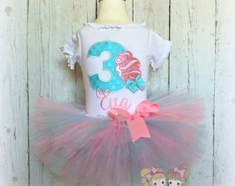 Cotton candy birthday outfit - Carnival birthday outfit - 1st birthday outfit - cotton candy tutu outfit - pink and blue tutu