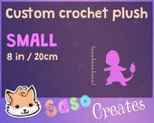 SMALL Custom crochet plushie - Made to order