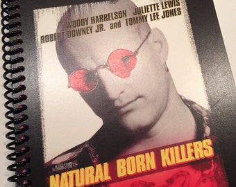 NATURAL BORN KILLERS  spiral notebook journal movie diary Oliver Stone
