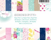 Dear Lizzy Serendipity 6x6 Paper Pad   -- MSRP 6.00