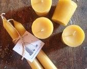 sweet sweet handmade beeswax votives