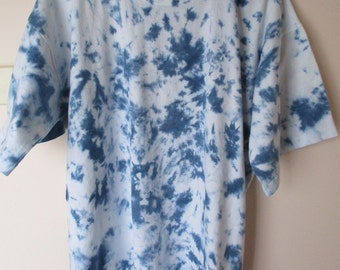 Mens Heavy Weight Tie Dyed Cotton T-Shirt Size M  TDC203