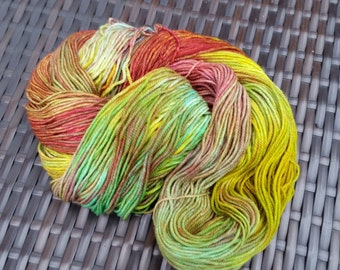 Under the Camphor Tree: 100g hand-dyed superwash merino/cashmere/nylon sock yarn