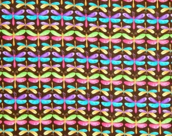 Drangonflies, Dragonfly Fabric, Bug Fabric, 01010A