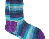 Socks, Hand Knit Unique Socks, Striped Socks, Boho Socks, Men Women Socks, Bohemian Socks, Colorful Sox, Hipster Socks
