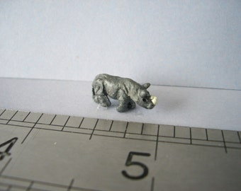 Rhinocerous Ornament for the Dolls House