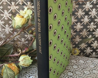 "Charming Little Vintage Book:  ""Pride & Prejudice"" by Jane Austen-Pantheon Books-1949"