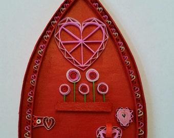 Valentine Fairy Door
