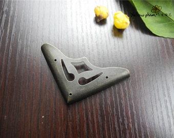 4PC/8PC/50PC 48*48mm antique brass color woodwork bracket,jewelry box, box corner decoration,chest box corner bracket E016