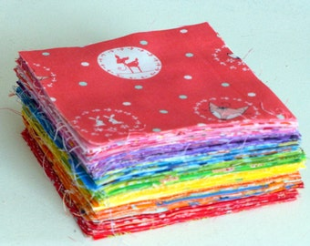 "Double Rainbow Charm Pack - 168 x 5"" squares"