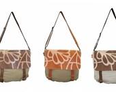 Leather bag, Leather/Cotton bag, Hand made Bag, Executive bag, College bag