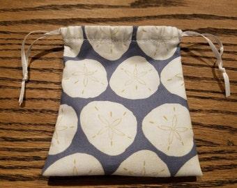 Menstrual Cup Bag: Sand Dollars