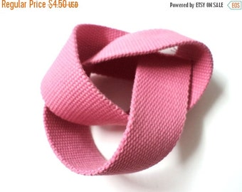 SALE Day 5 YARDS Pink Gross Grain Trim Ribbon 1.4'' - for Crafts, Sewing , Accessories