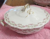 Limoges  France  Porcelain Serving Bowl c.1907-1920