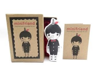 Cotton Message Doll - Minifriend Pinocchio