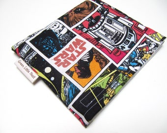 Reusable Snack Bag, Star Wars Eco-Friendly Snack Bags, Sandwich Bag, Waste Free Lunch Bag, Star Wars Back to School
