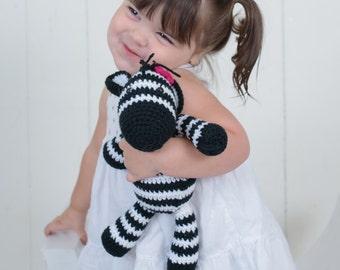 Crochet Zeebra Doll