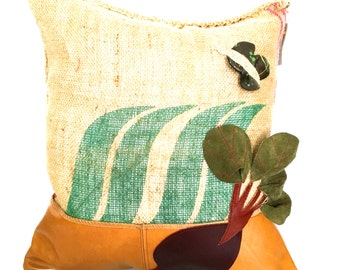 "SALE: Garden Variety ""Beet"" Throw Pillow"