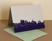MultiPack - 5 Violet Oakland Skyline Cards