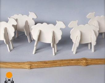 Ceramic Sheep Shapes, Fun gift and collectible