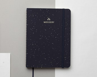 Galaxy Gold Foil Personalized Notebook/Sketchbook