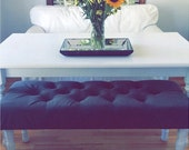 """Decorative Tufted Benches 40-50"""" long"""