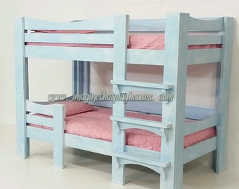 The Cottage Bunk Bed  A solid, high quality, beautiful finish