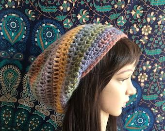 Slouch Beanie, Crochet Beanie, Sweet Sunshine, Ready to Ship, slouch hat, slouchy hat, slouch beanie, womens slouch hat, womens hat