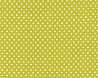 Dottie by Moda - Small Dots - Gold - Maize - Quilt Fabric - Fat Quarter - FQ - Cotton Quilt Fabric 516