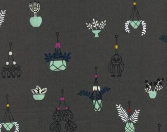 Hang It Up (Grey) - Macrame - Rashida Coleman-Hale - Cotton + Steel - 1 Yard
