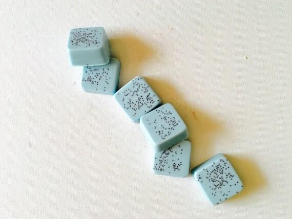 Bergamot-Sandalwood Mini Guest Soap Set of 6