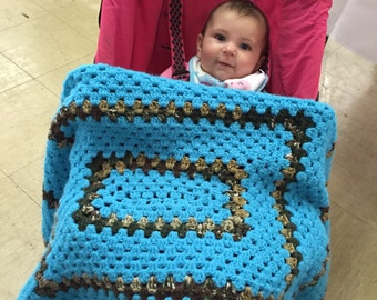 Granny Crochet Baby Blanket