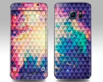 TRIBAL NEBULA Galaxy Decal Galaxy Skin Galaxy Cover Galaxy S6 Skin, Galaxy S6 Edge Decal Galaxy Note Skin Galaxy Note Decal Cover