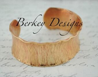 Keepsake Brass Yogi/Meditation Custom Hand Stamped Secret Message Bracelet