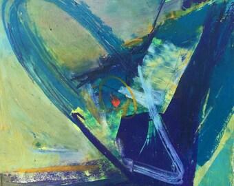 Original Pastel - Abstract 16103